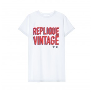 Tee Replique Vintage White