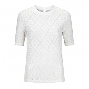 Top Lappe Lace White