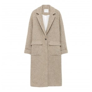 Coat Topitown Beige Melange