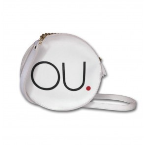 OU. Logo Bag White
