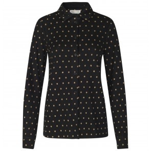 Knit Lucian Dots Black