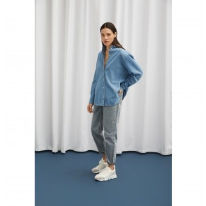 Mom Jeans Frida Light Blue Denim