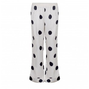Pyjama Pants Billy Off White Dots