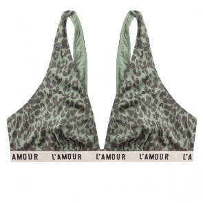 Bikini Bralette Holly Grey Leopard
