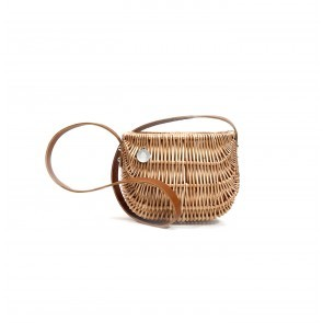 Ladybag Wicker Basket no.2 Leather Strap