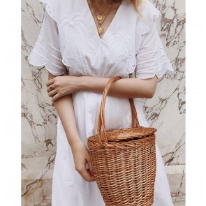 Ladybag Wicker Basket no.6 Regular Strap