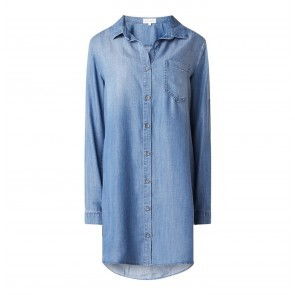 Shirt Dress Pocket Medium Ombre Wash