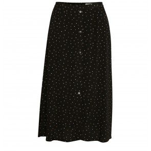 Skirt Harper Black Purple Dot