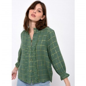Shirt Cathie Check Green
