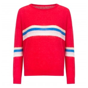Knit Sweater Hilda Red