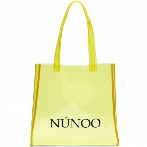 Small Tote Bag Transparent Yellow