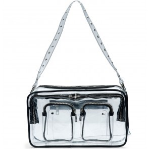 Shoulderbag Ellie Transparent Colorless