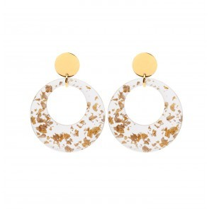 Earrings Porto 24K Gold Plating