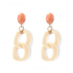 Earrings Alizé 8 White