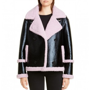 Jacket Lindsey Black/Light Violet