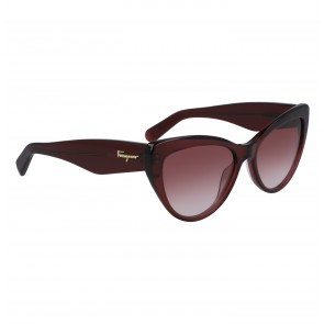 Cat Eye Sunglasses Wine
