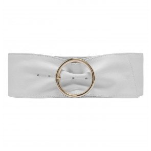 Wide Belt White