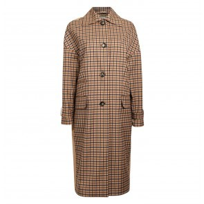 Coat Darri Nougat Check