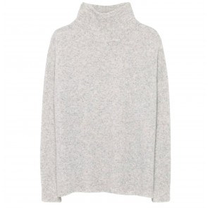 Pullover Turtleneck Heather Grey