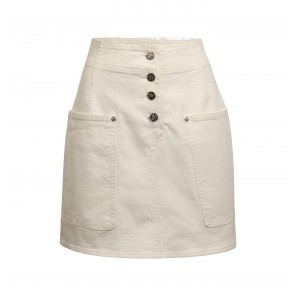Skirt Shannon White Denim