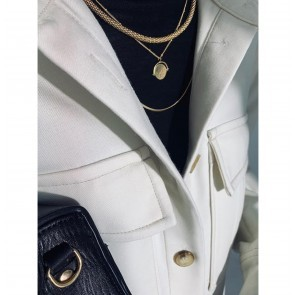 Necklace Julee Gold Plated