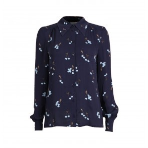 Blouse Maiken Blue Cherry