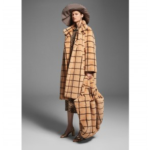 Coat Demetria Camel Check