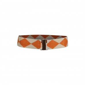 Belt Lilah Creamy Orange Check