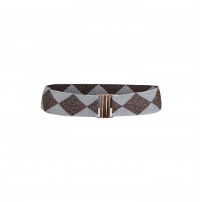 Belt Lilah Browny Blue Check