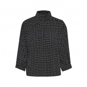 Blouse Denice Black/White Check
