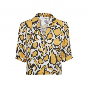 Blouse Irina Yellow Animal
