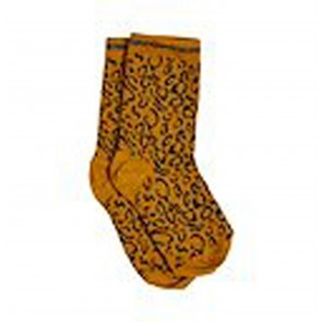 Socks Hani Mustard Animal