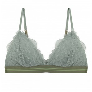 Padded Bra Darling Lace Grey Lilly