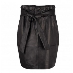 Leather Skirt Abbey Raven