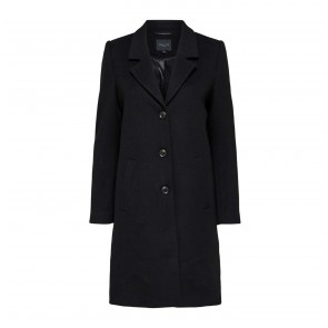 Wool Coat Sasja Black