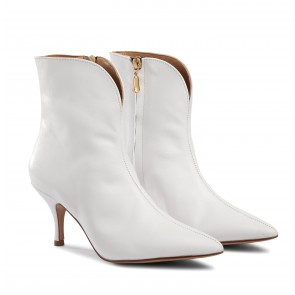 Copenhagen Boot White