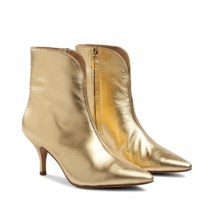 Copenhagen Boot Metallic Gold