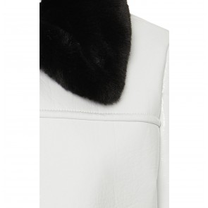 Jacket Jayden White/Black fur