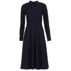 Dress Chamba Dark Blue