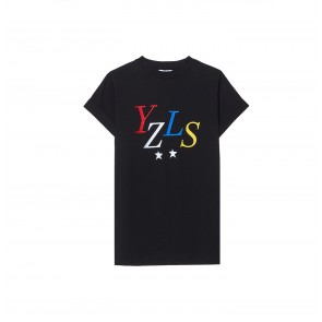 Top YZLS EMB Black