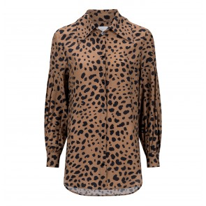 Blouse No Leopards Were Harmed