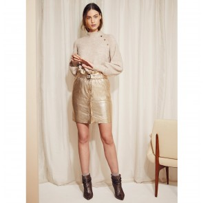Skirt Couric Metallic Gold