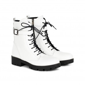 Berlin Boots White
