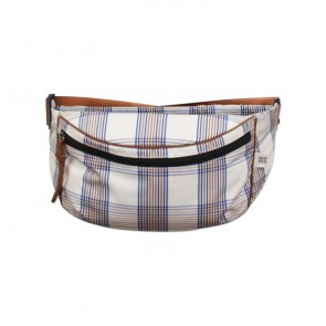 Beltbag Kiva Cream Navy Brown