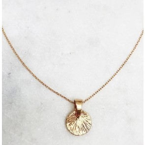 Choker Vintage Coin Gold