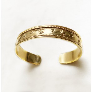 Bangle Star en Lion Gold