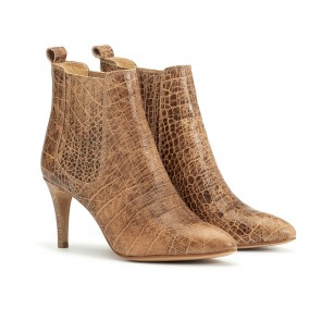 Marylebone Boot Croco Brown