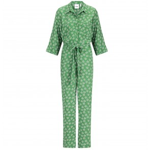 Jumpsuit Blazing Star Green Flower