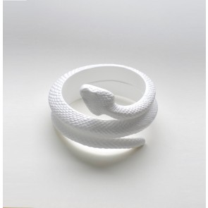 Bracelet Serpent White