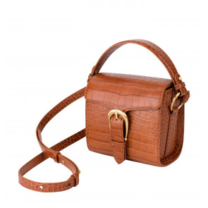 Bag Madeline Mini Buckle Cognac